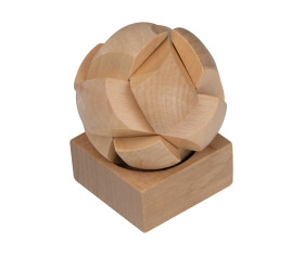 Geduldspiel aus Holz