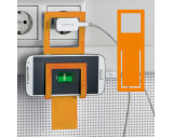 Handyhalter Metall mit Silikonüberzug